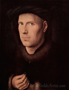 Portrait Of Jan De Leeuw