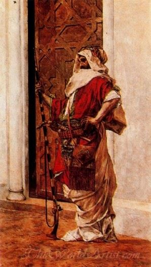Le Garde Du Temple  (The Temple Guard)