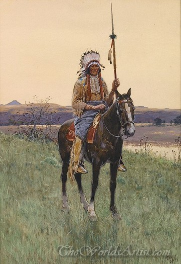 Southern Plains Indian Warrior