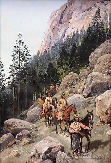 Seneca And Sioux Indians