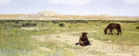A Rest In The Desert