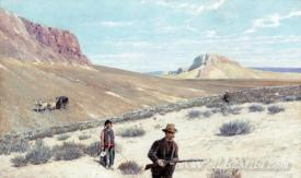 Theodore Roosevelt Sage Grouse Shooting