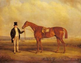 A Gentleman Holding Dangerous The Winner Of The Derby