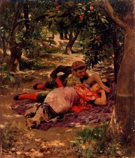 Bajo Los Naranjos  (Under The Orange Trees)