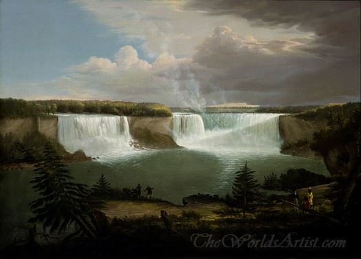 A General View Of The Falls Of Niagara