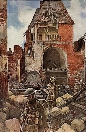 English Soldiers In Peronne