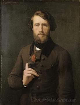 Portrait Du Comte Felix Darjuzon