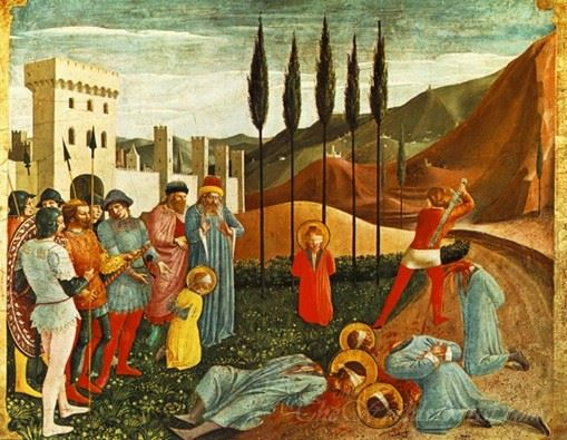 Beheading Of Saint Cosmas And Saint Damian