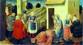 Annunciation Adoration Of The Magi
