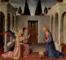 Annunciation From The Paintings For The Armadio Degliargen