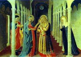 Annunciation Presentation In The Temple