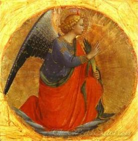 Perugia Triptych Angel Of The Annunciation