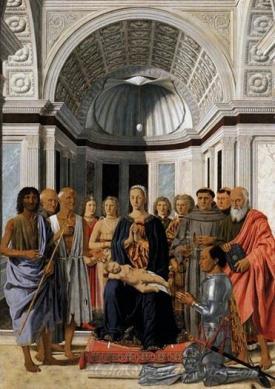 Montefeltro Altarpiece Brera Madonna