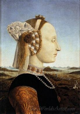 Portrait Of Battista Sforza