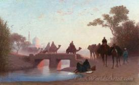 Environs Du Caire  (Surroundings From Cairo)
