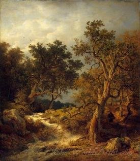 Landscape With A Stream