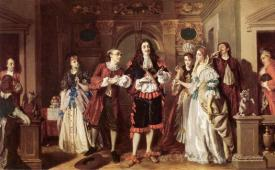 A Scene From Molieres Lavare