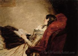 Isabelle Frith Reclining