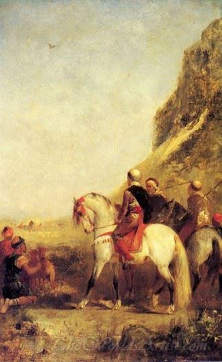 Arabs Hunting