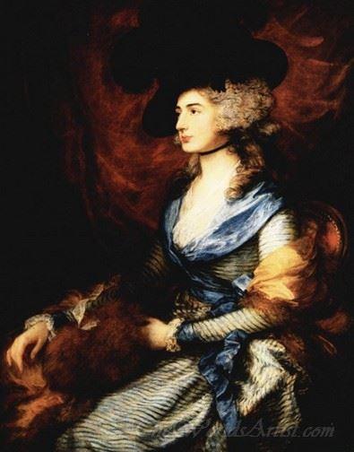 Portrait Of Mrs Sarah Siddons