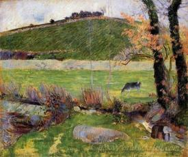 A Meadow On The Banks Of The Aven