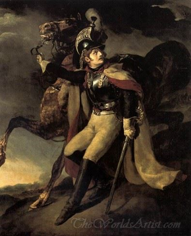 The Wounded Cuirassier Leaving The Field Of Battle