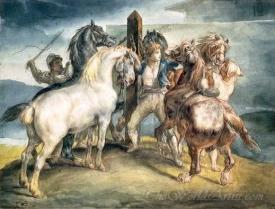 Le Marche Aux Chevaux  (The Horse Market)