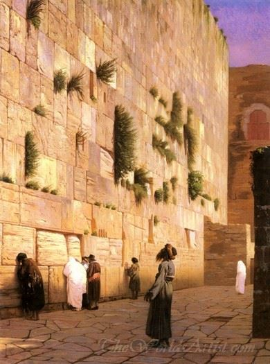 Solomons Wall Jerusalem The Wailing Wall