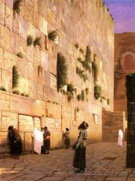Solomons Wall Jerusalem The Wailing Wall