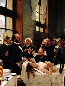 The Operation  (Dr Pean At The Salpetriere)