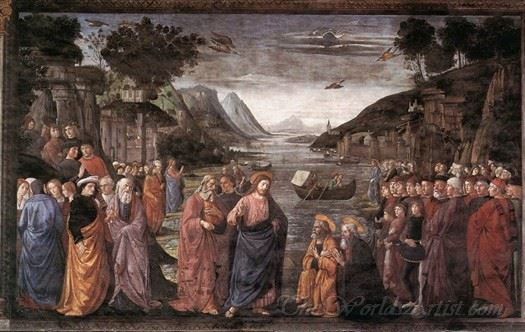 Calling Of The First Apostles