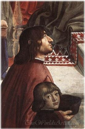 Angelo Poliziano E Giuliano De Medici  (Angelo Poliziano And Giuliano De Medici)
