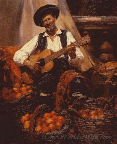 Tocando La Guitarra  (Playing The Guitar)