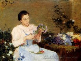 Arranging Flowers For A Spring Bouquet
