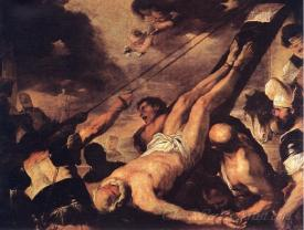 Crucifixion Of St Peter