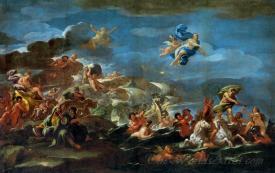 The Triumph Of Bacchus Neptune And Amphitrite