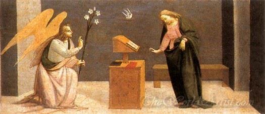 Predella Annunciation