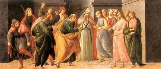 Predella Marriage Of Mary