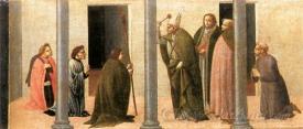 Predella Consecration Of The Church Of The Innocents
