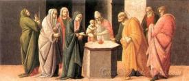 Predella Presentation At The Temple