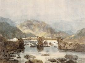 Bridge Near Beddgelert Snowdonia