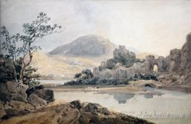 Castle Conway After Sir George Beaumont