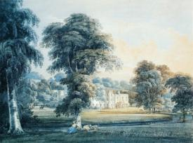 Chalfont House Buckinghamshire With A Shepherdess