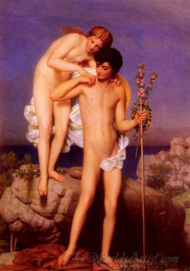 Daphnis Et Chloe Revenant De La Montagne  (Daphnis And Chloe Returning Of The Mountain)