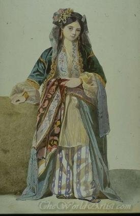 Turkish Woman Smyrna