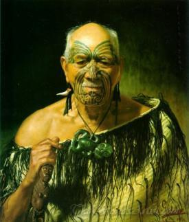 Patara Te Tuhi An Old Warrior