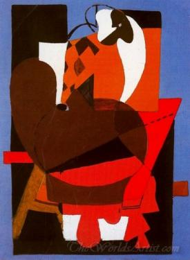 Abstraccion Con Paleta  (Abstraction With Palette)