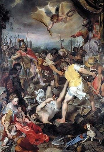 The Martyrdom Of Saint Vitalis Of Milan