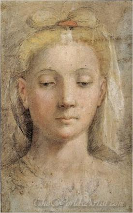 Drawing Of A Womans Head