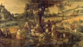 Landscape With Harvesters And Gypies Resting An Allegory Of Summer